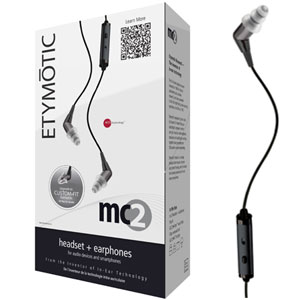 Etymotic MC2 Noise-Isolating Headset & Earphones