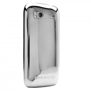 Case-Mate Barely There para HTC Sensation - Plata Métalica