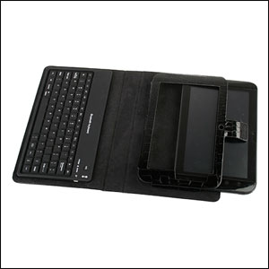 Dell Streak 7 Case With Bluetooth Keyboard - Black