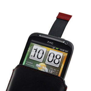 Alu Leather HTC Sensation Slip Pouch