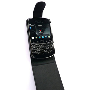 BlackBerry Bold 9900 Flip Case - Black