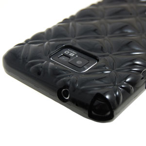 Samsung Pleomax Bling Bling Case for Galaxy S2 - Black