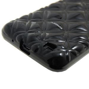 Samsung Pleomax Bling Bling Case for Galaxy S2 - Black