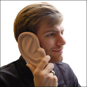 Ear Case For The iPhone 4