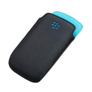 BlackBerry Curve 9350/9360/9370 Pocket White w/Blue Liner - ACC-43296-201