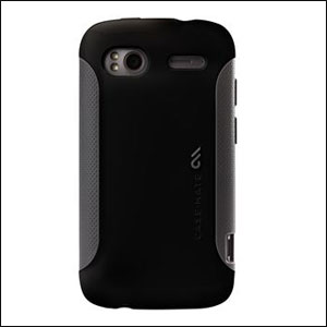 Case-Mate Pop For HTC EVO 3D - Black/Grey