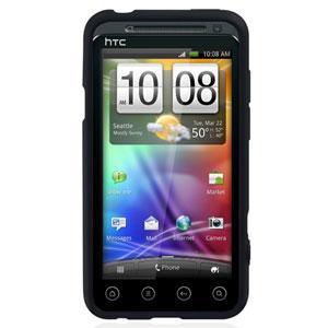 Coque HTC Sensation / Sensation XE - Incipio NGP - Noire mate (avant)