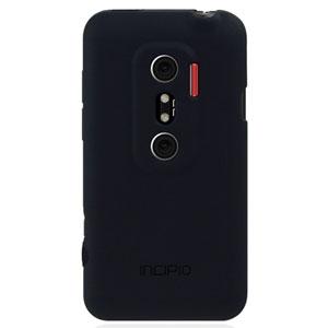Coque HTC Sensation / Sensation XE - Incipio NGP - Noire mate (arrière)