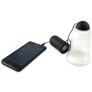 PocketBook Portable Vibration Speaker - Black