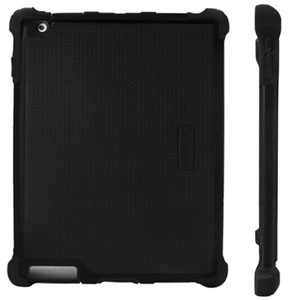 Ballistic Tough Jacket Series Case for iPad 2 - Black
