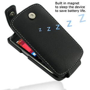 PDair Leather Flip Case - BlackBerry Curve 9360