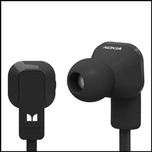 Nokia Purity In Ear Stereo Headset in Schwarz