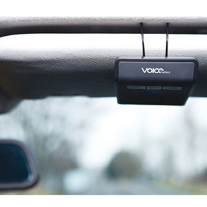 The Voiceworks V1 Visor Car Kit