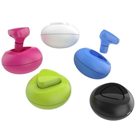 Nokia Luna Bluetooth Headset - BH-220 - Cyan