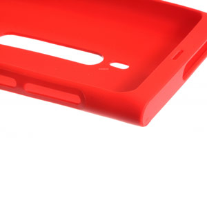 Red Nokia N8 Soft Case - CC-1031
