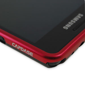 Capdase Alumor Bumper for Samsung Galaxy S2 - Red/Silver