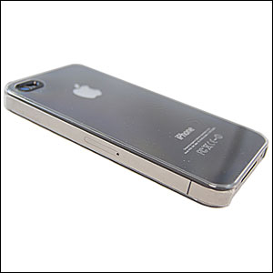 Power Support Jacket für iPhone 4S in Transparent