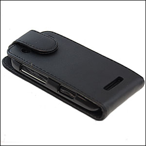 Slimline Carbon Fibre Flip Case For BlackBerry Curve 9360
