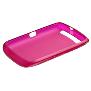 Genuine BlackBerry Curve 9380 Soft Shell - ACC-41675-204 - Pink
