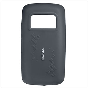 Nokia Silicone Cover CC-1013 for Nokia C6-01 - Black