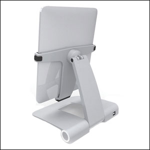 PowerStand for iPad + iPad 2 - Aluminium