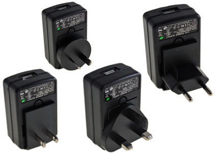 Bluechip Universal Mains Charger with 6 Tips