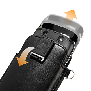 Capdase Smart Pocket for BlackBerry Torch 9860 - Black