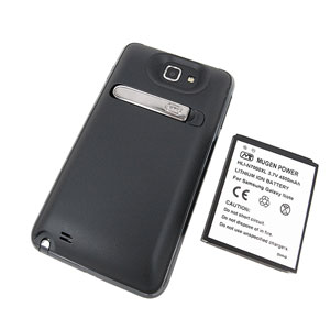 Mugen Samsung Galaxy Note Extended Battery & Back Cover 4500mAh - Black