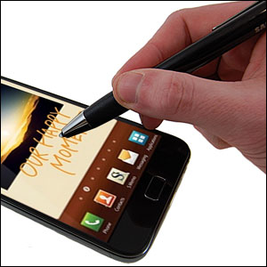 Genuine Samsung Galaxy Note Stylus Pen and Holder - ET-S110E