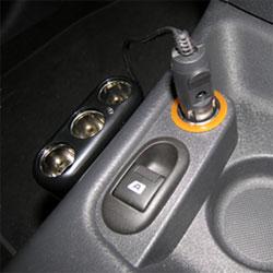 Triple Cigarette Lighter Adapter