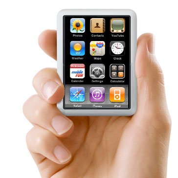 ipod touch 5gen. iPod Nano Touch on its way?