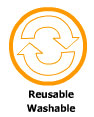 Reusable Washable