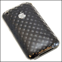 FlexiShield Plus Skin Case in Schwarz für Apple iPhone 3G S oder 3G