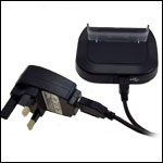 The sync and charge station comes with a mains charger