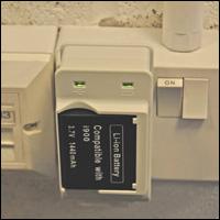 LED status indicator