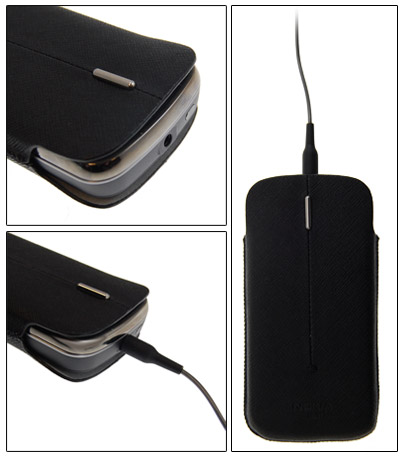 Nokia CP-382 Carry Pouch with Headphones