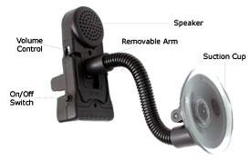Pama Plug N' Go Anywhere Car Kit - Nokia 8310, 6510