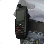 You can attach your HTC Snap to your belt with the deluxe holster