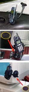 Universal Windscreen Mount Phone Holder