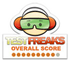 Rated 9 out of 10 by TestFreaks