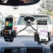Olixar Adjustable Dual Windscreen In Car Holder