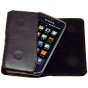 Housse de transport en cuir Samsung Galaxy S