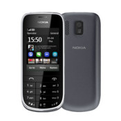 Nokia Asha 203 - Dark Grey