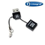 Integral microSD Card Reader