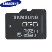 Samsung 8GB UHS-1 Grade 1 MicroSDHC Pro - Class 10