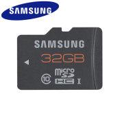 Samsung 32GB UHS-1 Grade 1 MicroSDHC - Class 10