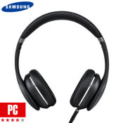 Samsung Premium Level On Headphones with Controls & Mic - Black