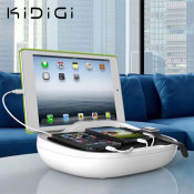 Kidigi Hank Family Universal USB Charging Station - Black