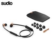 Sudio VASA BLA Bluetooth In Ear Headphones - Black / Rose Gold