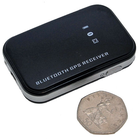 SiRF III Bluetooth GPS Receiver